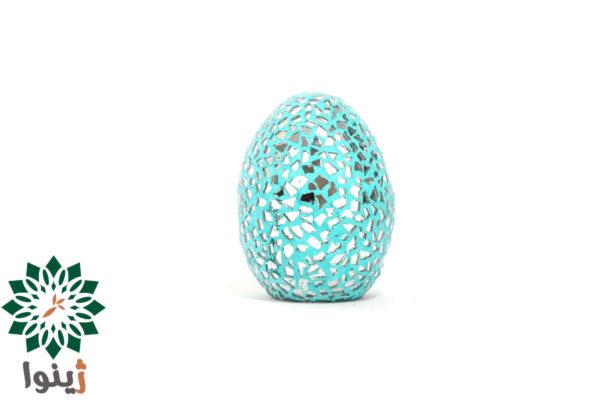 تخم مرغ سفالی آینه کاری کد SKU-CL-0035 بسته 2 عددی